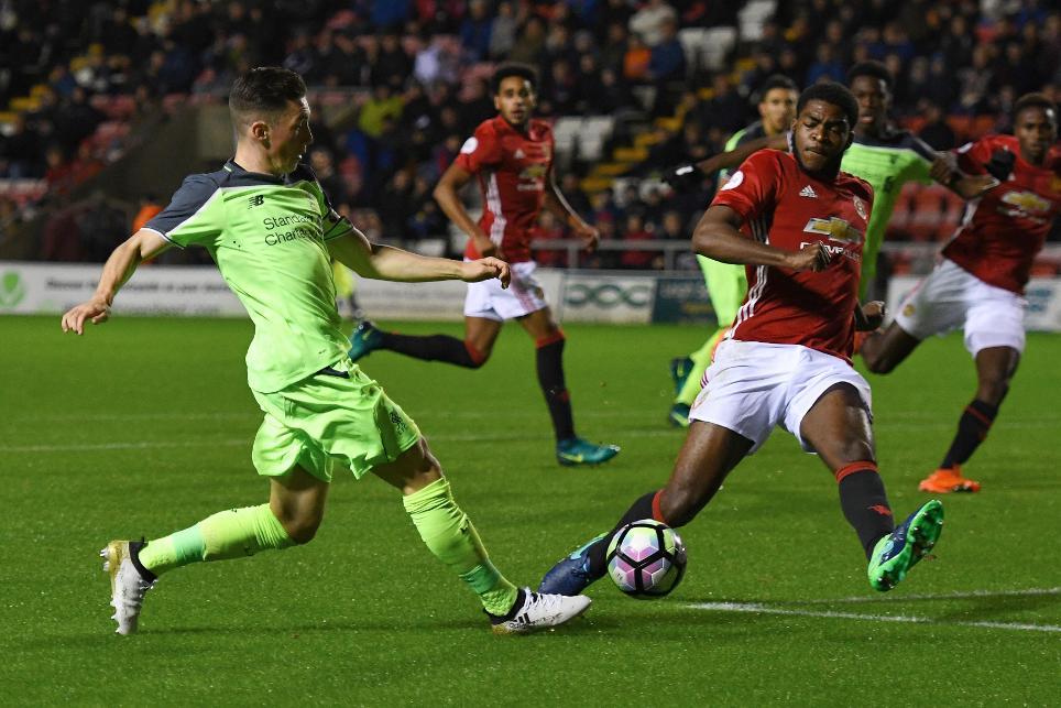 Man Utd 1-1 Liverpool, PL2