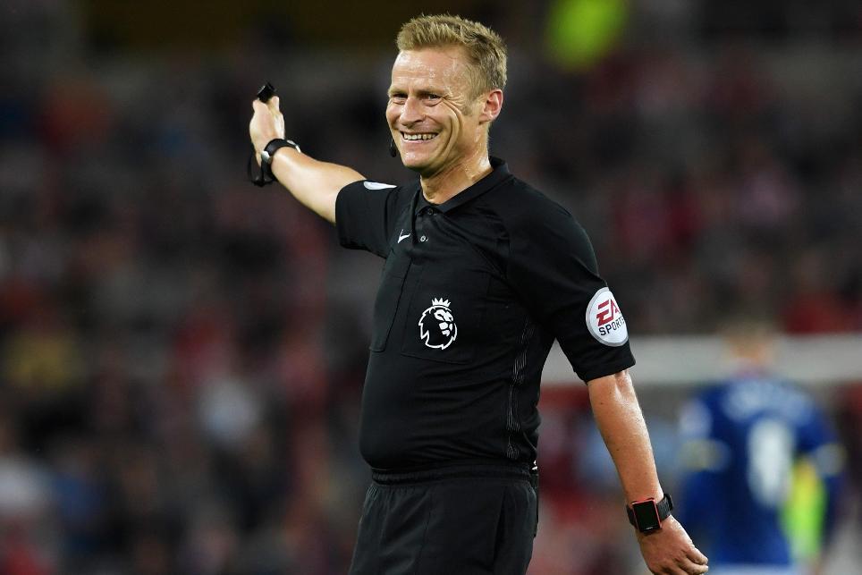 Sunderland v Everton - Premier League, Mike Jones, referee appointments, 241016