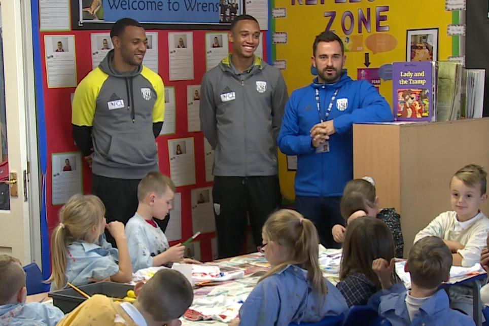 Matt Phillips; Brendan Galloway; Albion Foundation, Black History Month, 311016