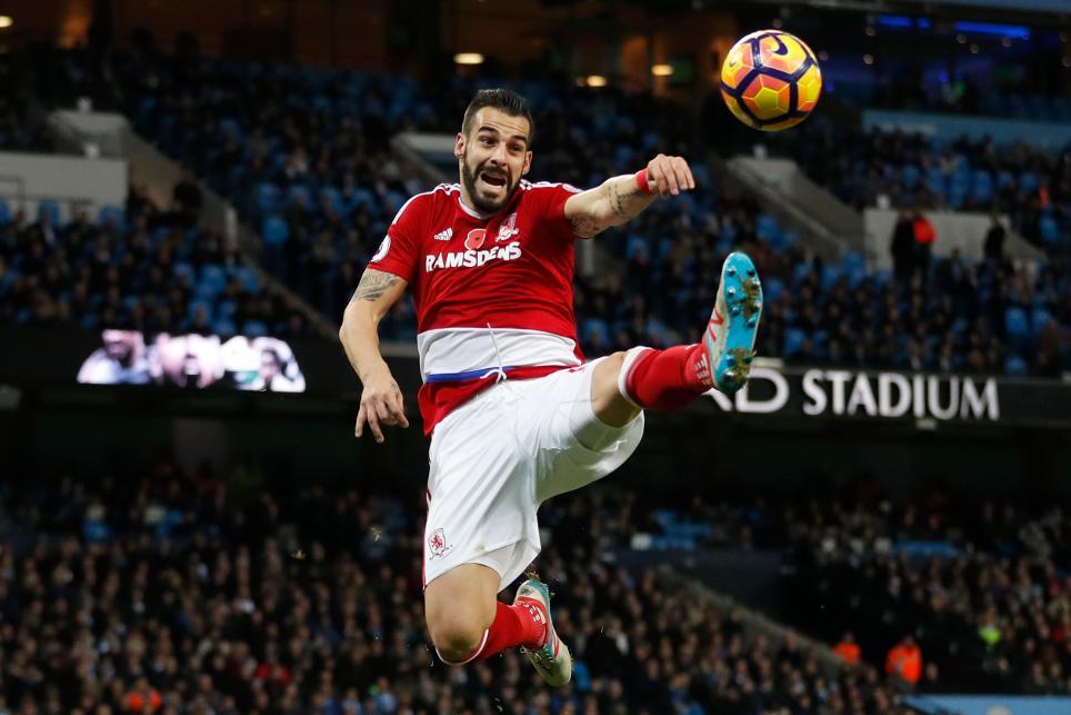 Middlesbrough's Alvaro Negredo