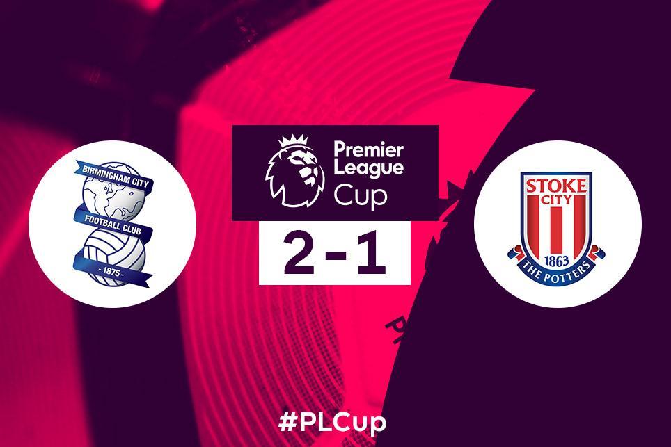 PL Cup: Birmingham 2-1 Stoke