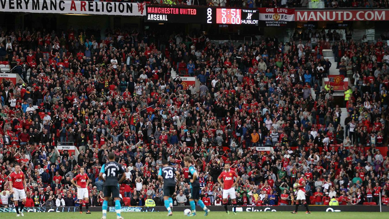 Man Utd 8-2 Arsenal, 2011