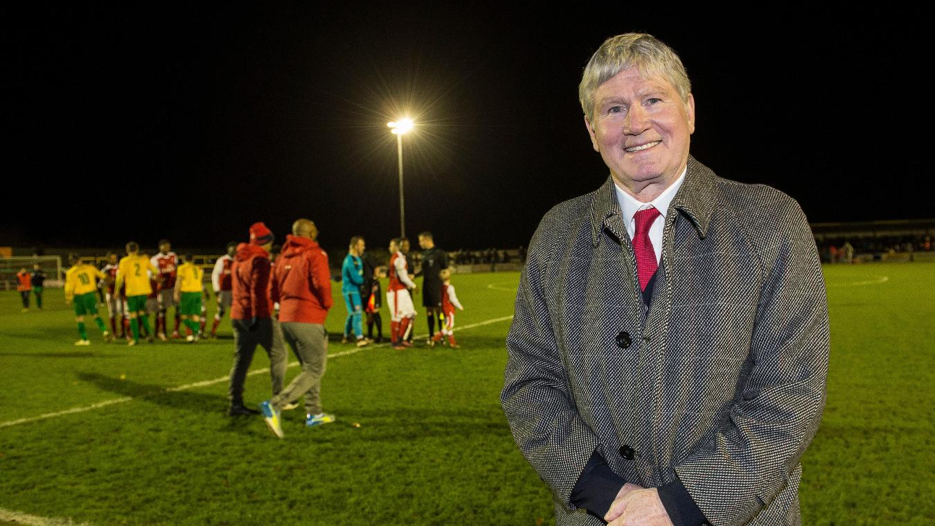 FSIF, Football Stadia Improvement Fund, Hitchin Town, 221116, Pat Rice