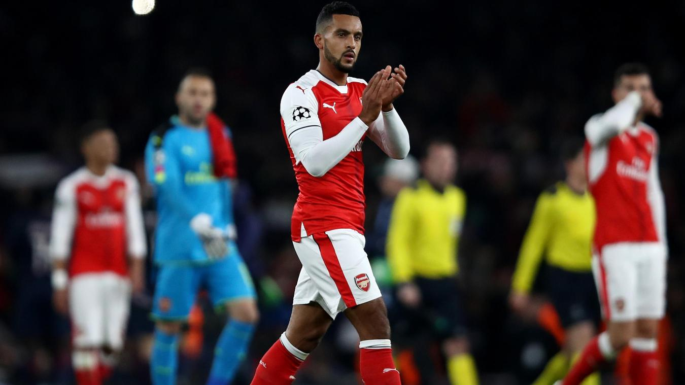 Theio Walcott, Arsenal, Champions League