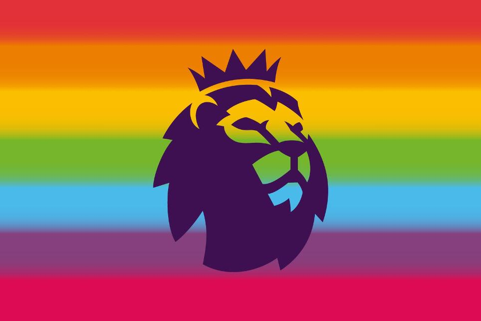 Premier League logo - Rainbow Laces
