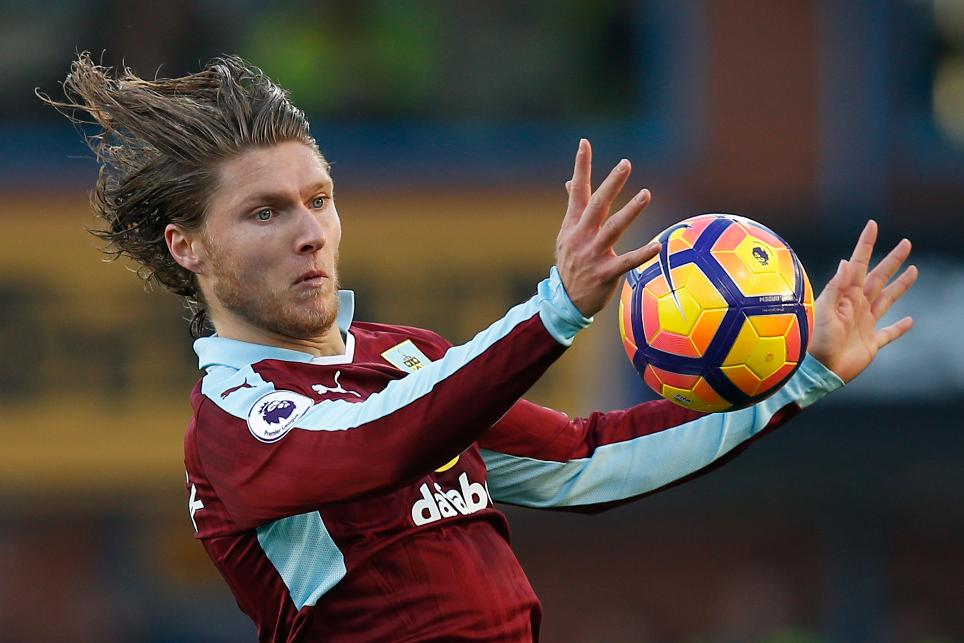 Burnley's Jeff Hendrick