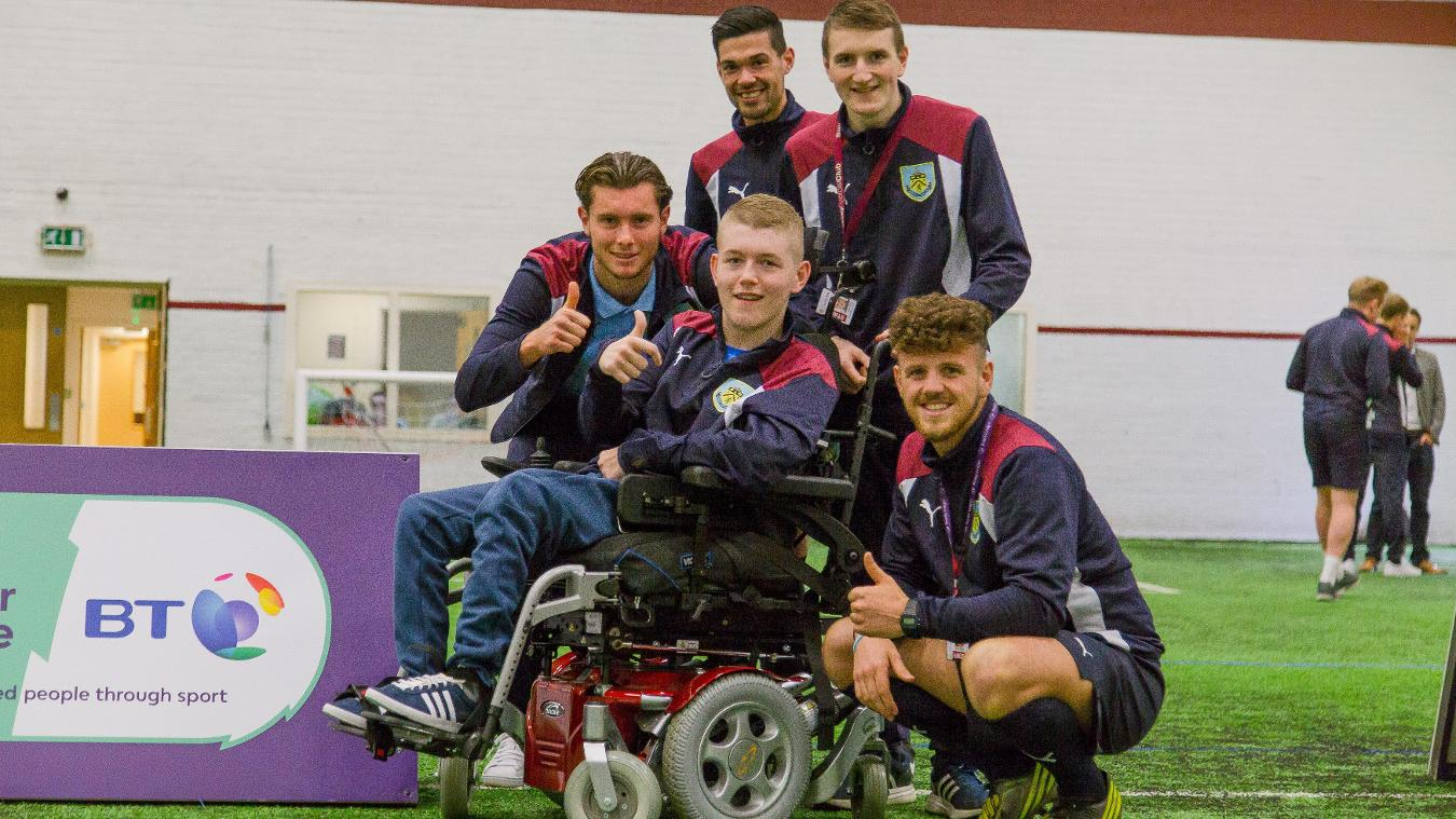 PL/BT Disability Sport Programme: Burnley, Joe Skinner