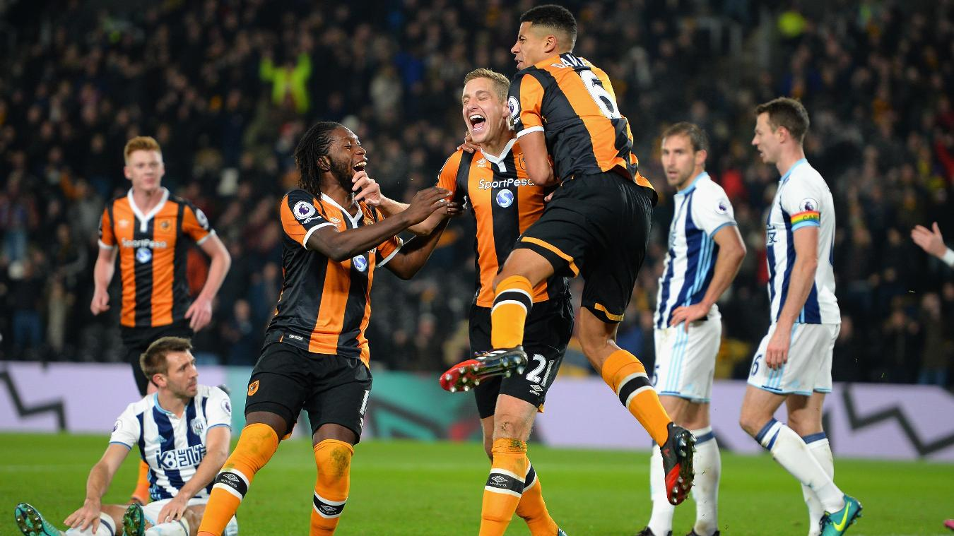 Hull City v West Bromwich Albion