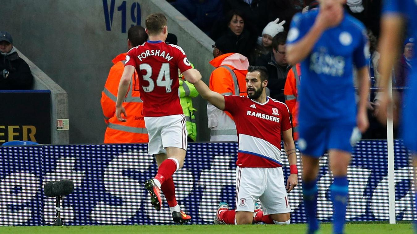 Adam Forshaw, Alvaro Negredo, Middlesbrough