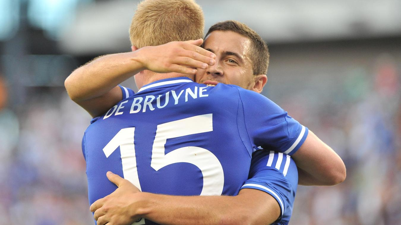 Eden Hazard, Kevin De Bruyne, Chelsea