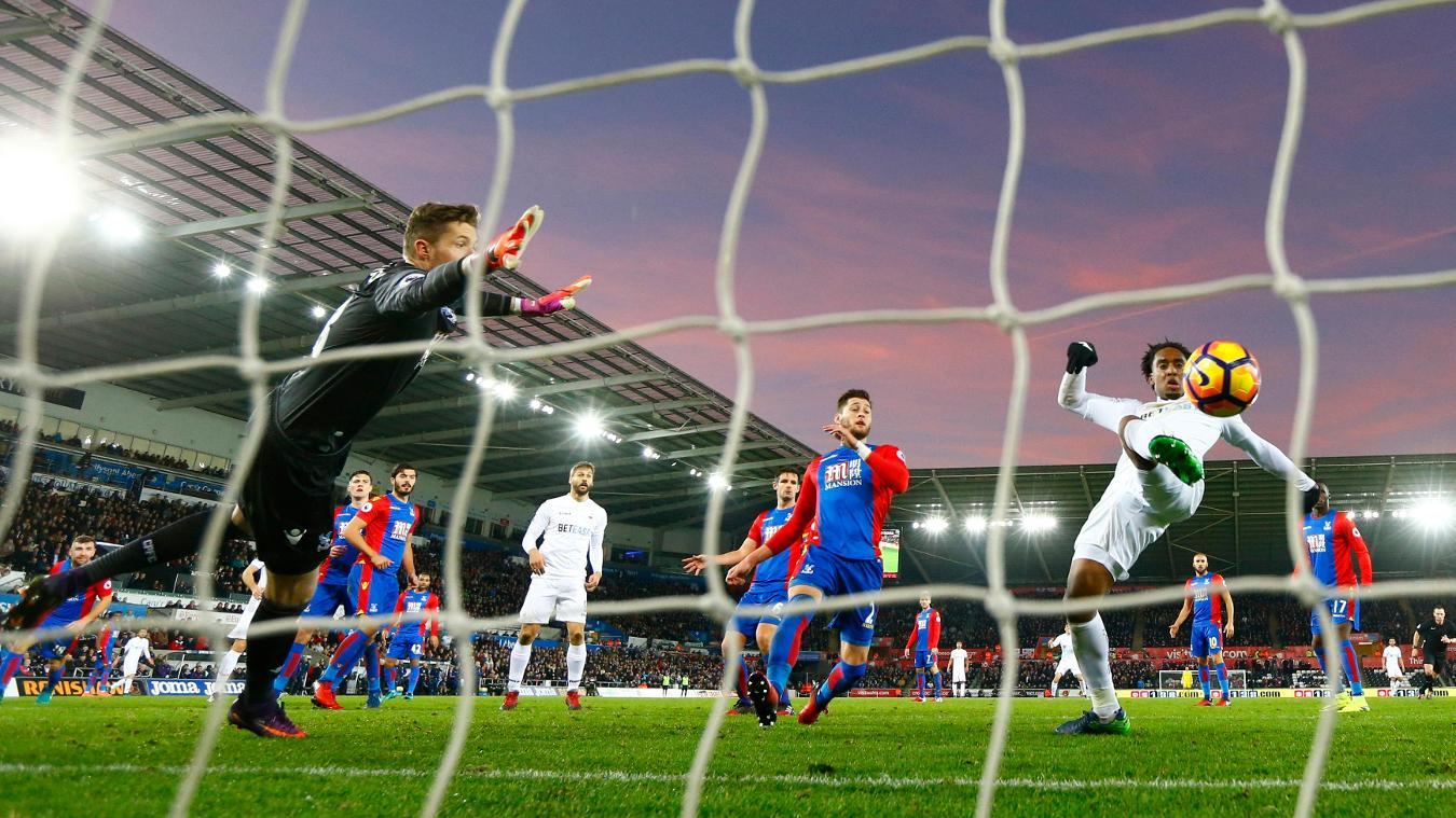 Swansea City v Crystal Palace, Leroy Fer, 261116