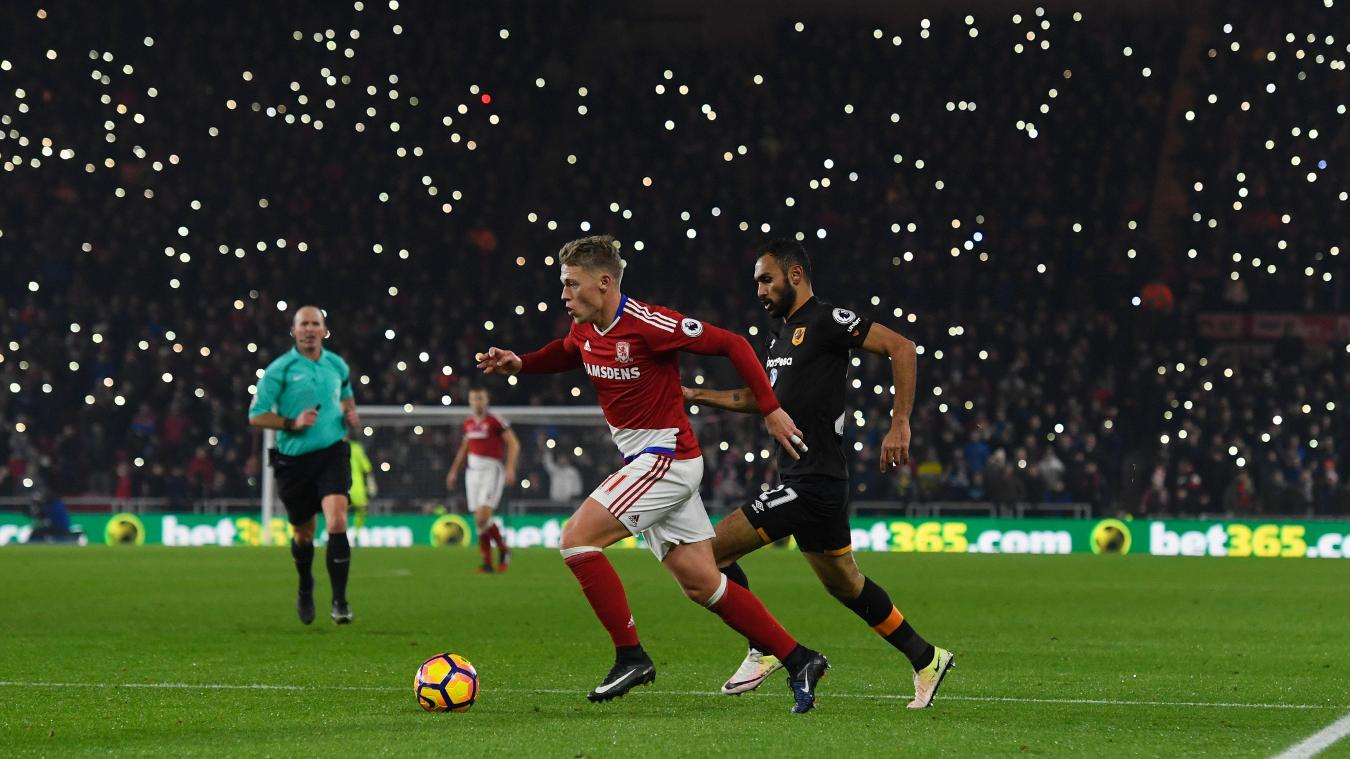 Matchweek 14: Middlesbrough 1-0 Hull City