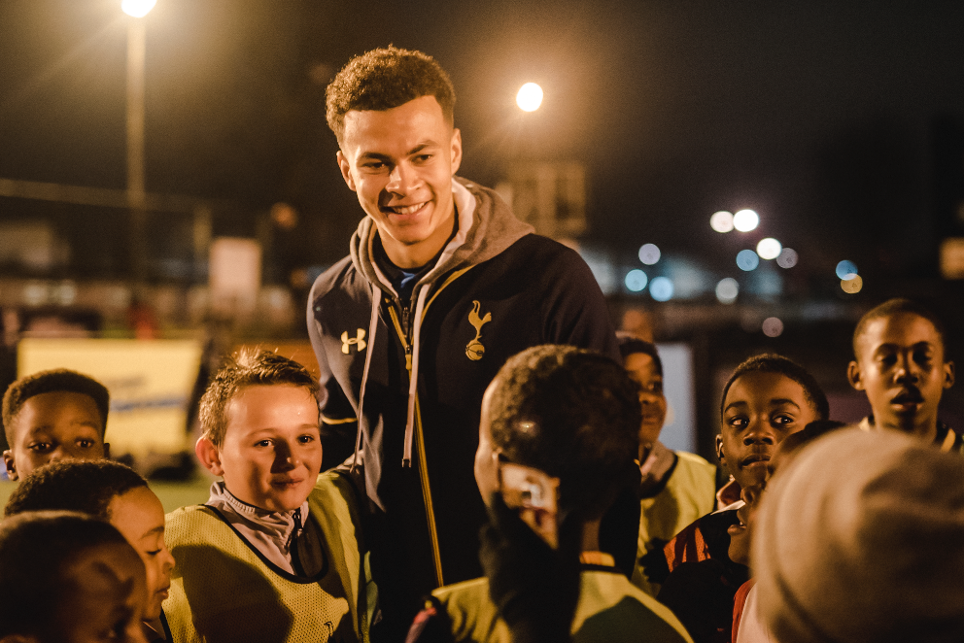 PL Kicks at 10, Kicks Heroes, Tottenham Hotspur, Ferry Lane, 121216, Dele Alli