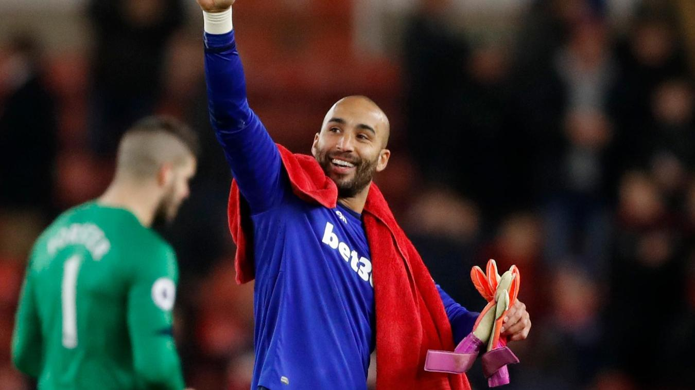 Stoke City v Southampton, 141216, Lee Grant