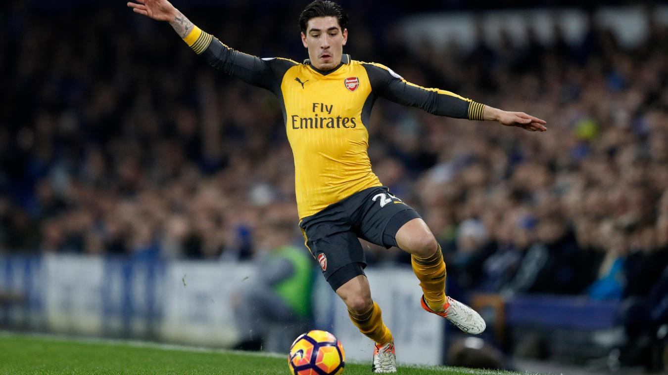 Arsenal's Hector Bellerin in action