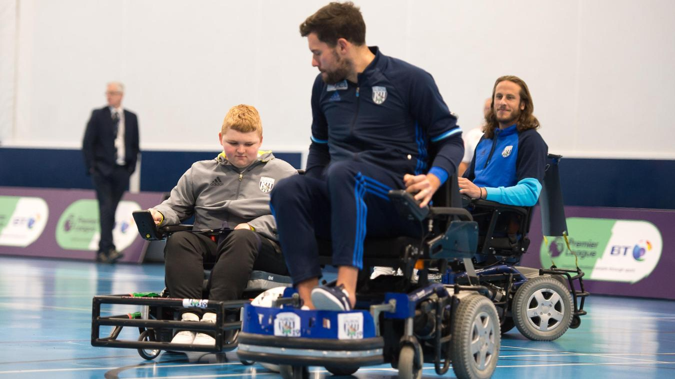 PL/BT Disability programme, 181216, West Brom, Ben Foster