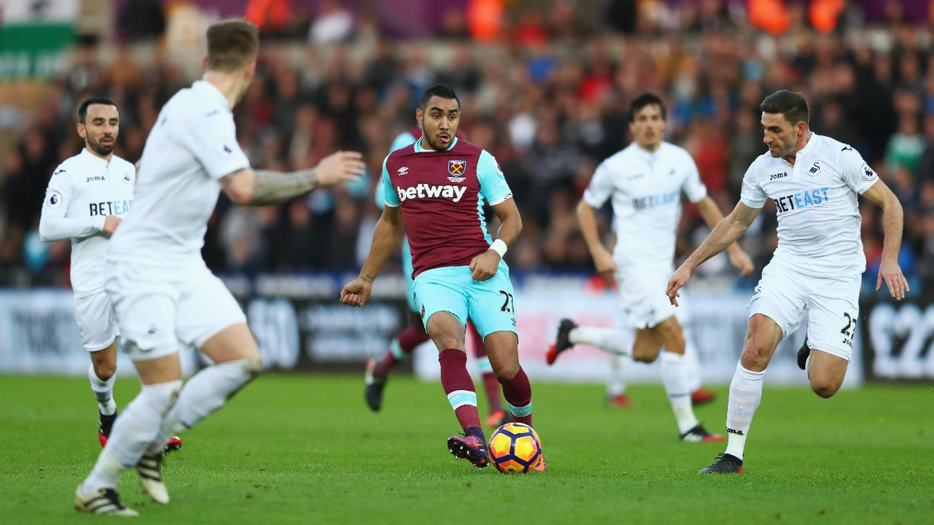 Swansea City v West Ham United, Payet