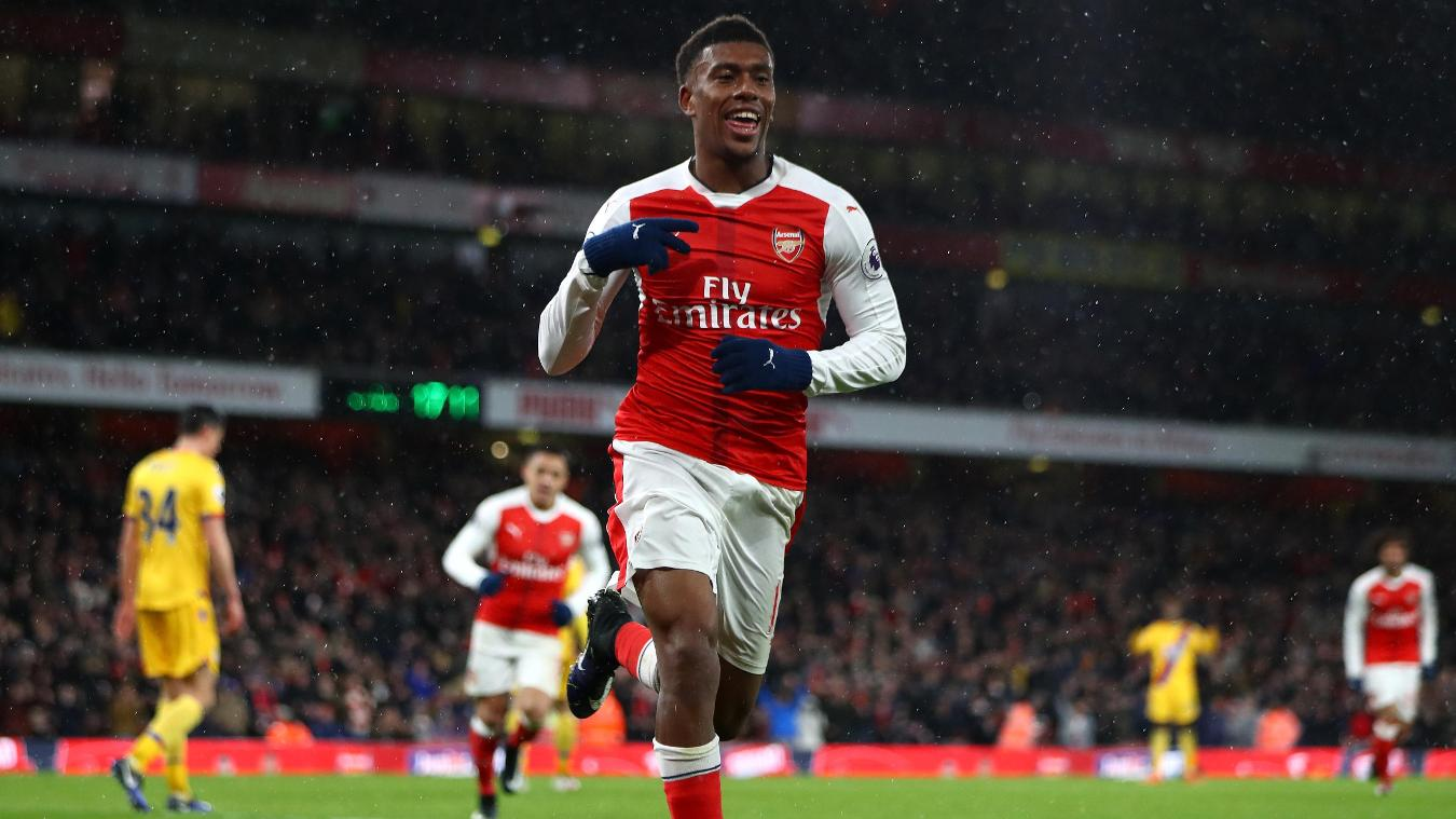 Arsenal v Crystal Palace, Alex Iwobi