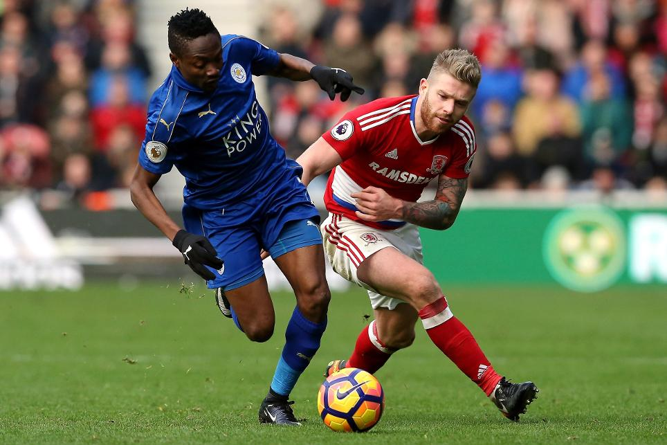 Middlesbrough v Leicester City