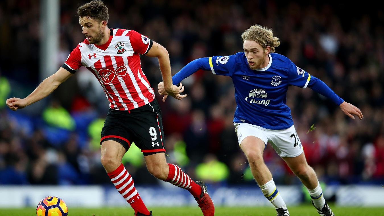 Everton v Southampton, Jay Rodriguez, 020117