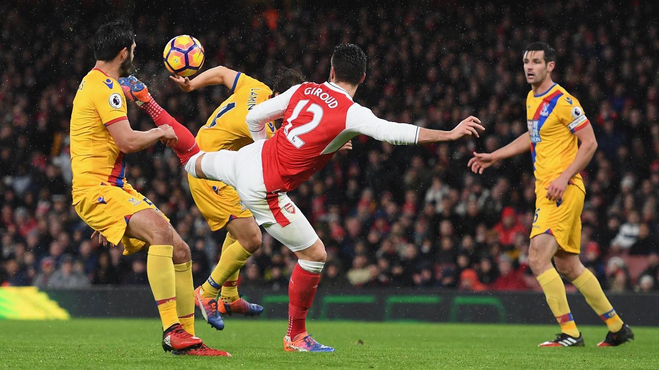 Matchweek 19: Arsenal 2-0 Crystal Palace