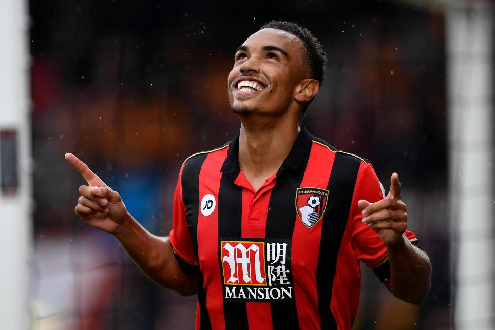Junior Stanislas, AFC Bournemouth v Hull City, 151016, goal cele