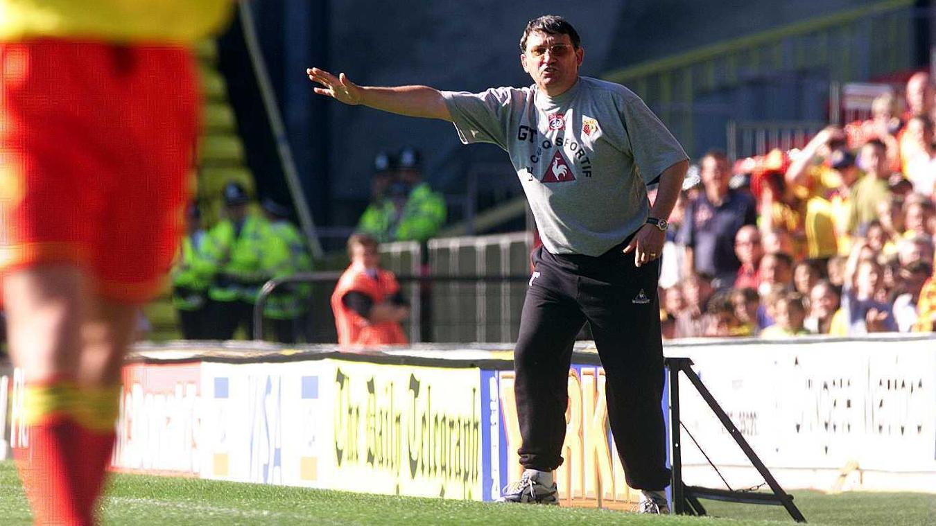 Graham Taylor at Watford