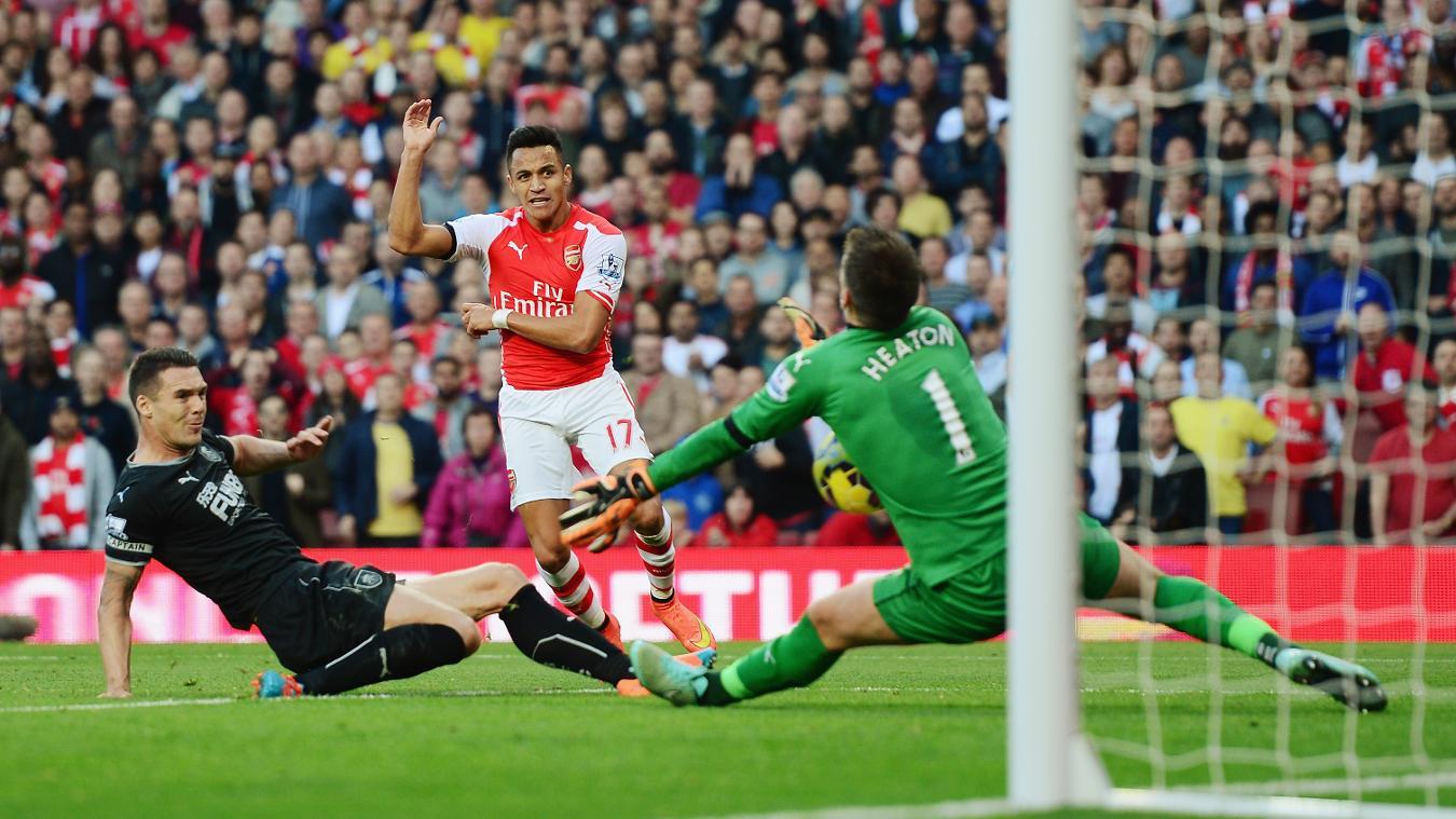 Arsenal v Burnley, 22 January