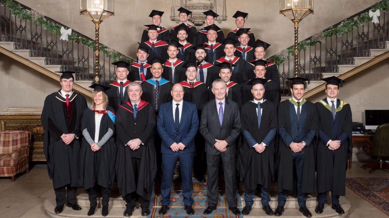 ECAS graduates, December 2016