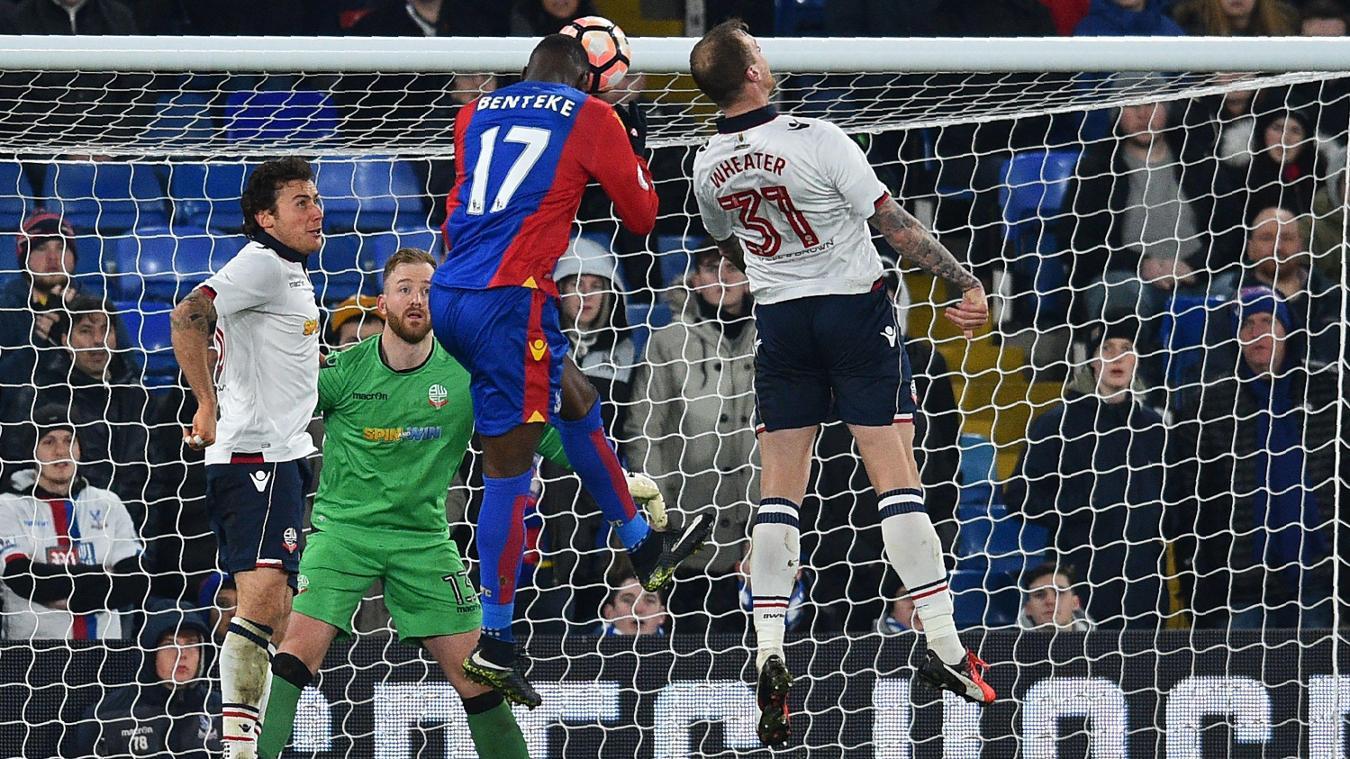 Christian Benteke, Crystal Palace, FA Cup