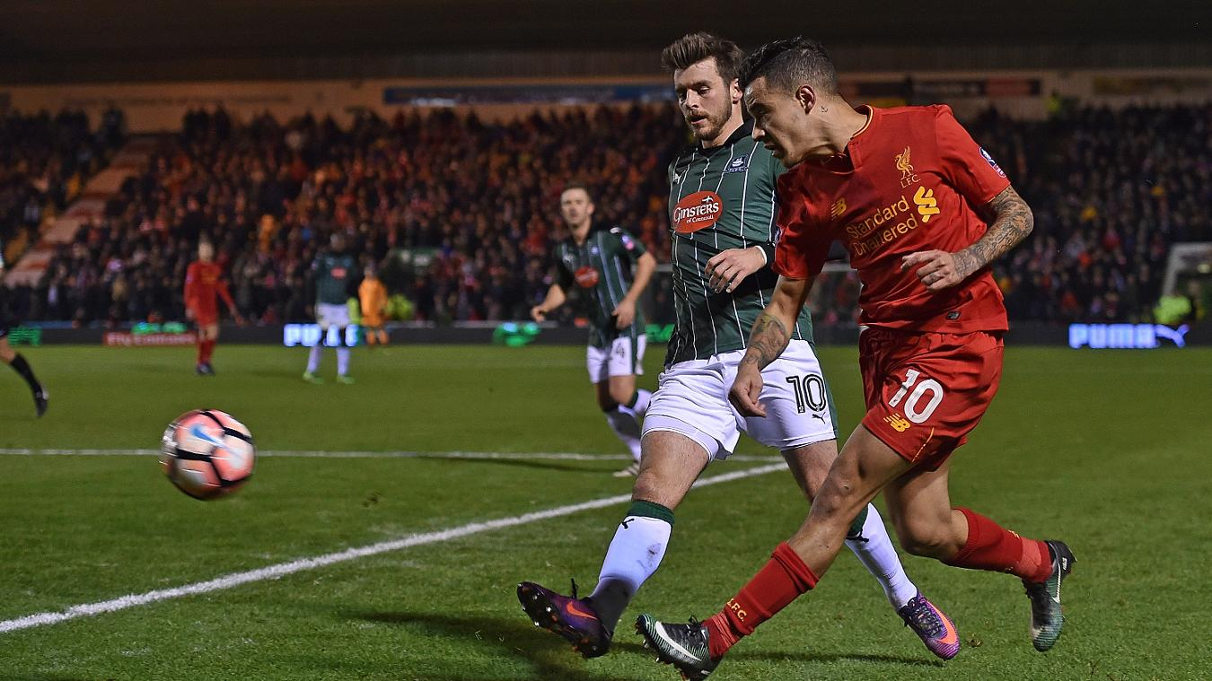 Philippe Coutinho, Liverpool, FA Cup