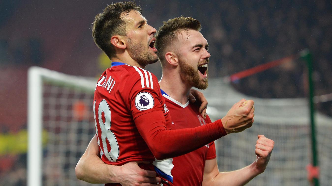 Middlesbrough v West Ham United