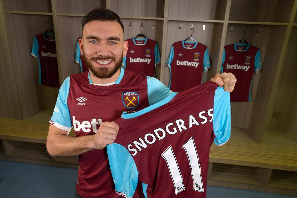 Robert Snodgrass, West Ham United