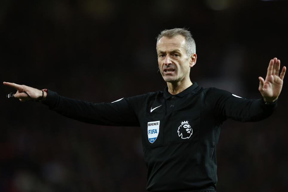 Martin Atkinson, referee