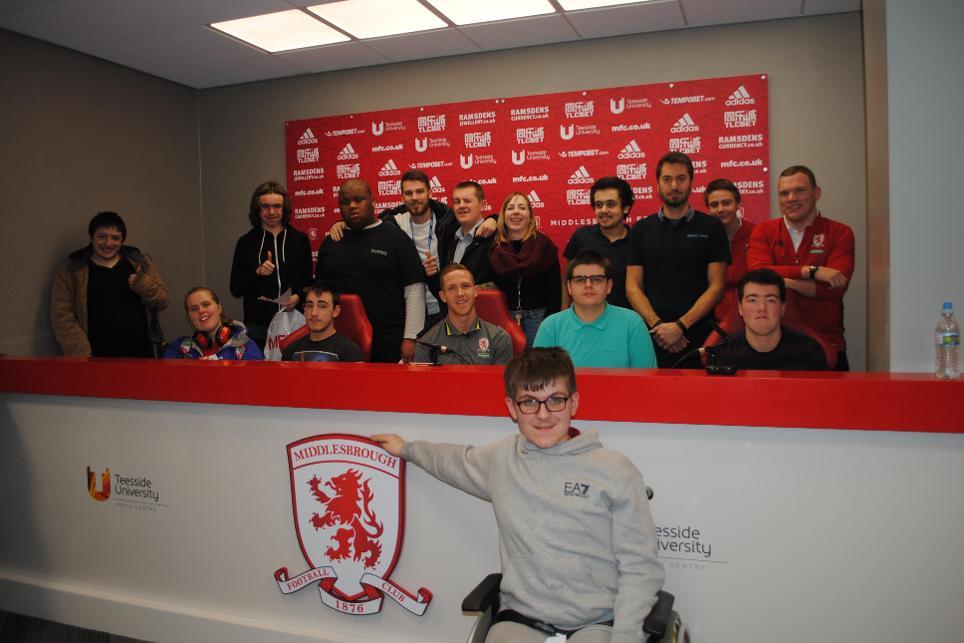 Adam Forshaw and Beverley Autism School