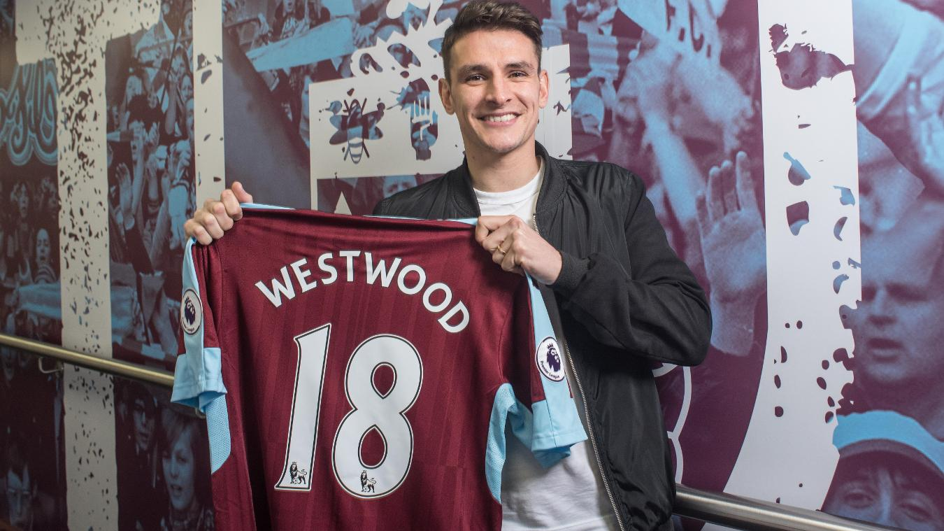 Ashley Westwood joins Burnley