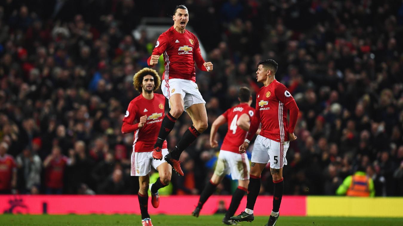 Manchester United v Liverpool, Zlatan Ibrahimovic