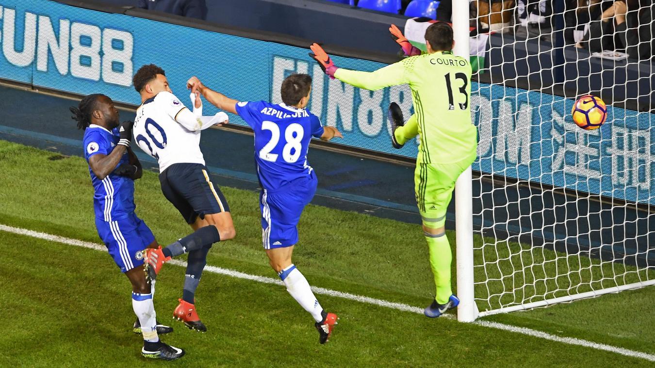Tottenham Hotspur v Chelsea, Dele Alli goal