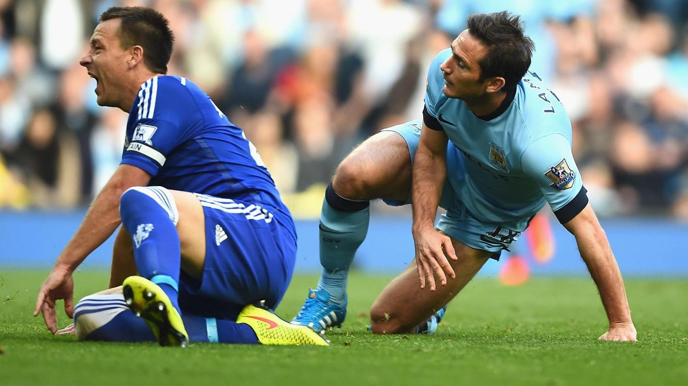 Frank Lampard, Manchester City, John Terry, Chelsea
