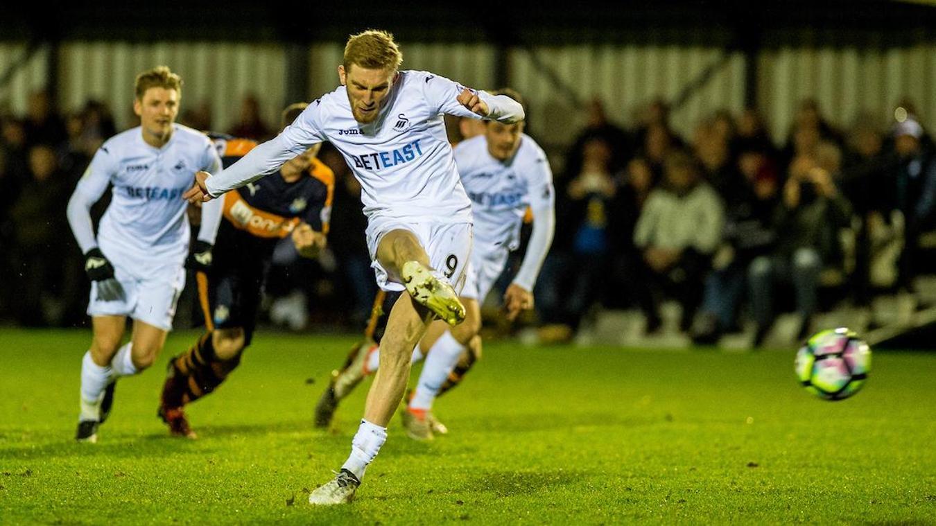 Oliver McBurnie, Swansea City