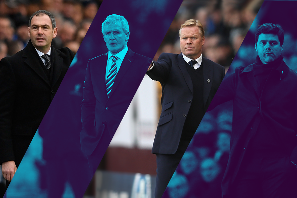 Premier League Manager of the Month January shortlist, 030217