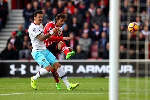 Southampton 1-3 West Ham