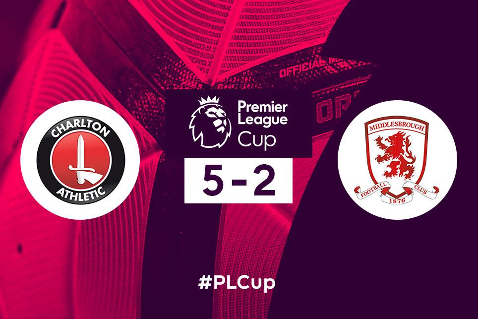 Charlton Score Five To Lead Group