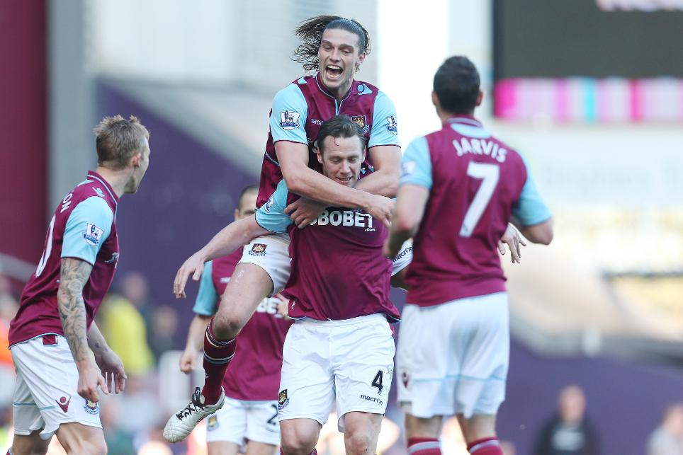 Andy Carroll, West Ham, Kevin Nolan