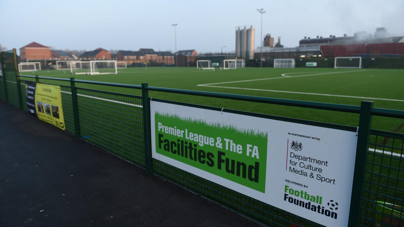 Premier League & The FA Facilities Fund, Burton, 140217