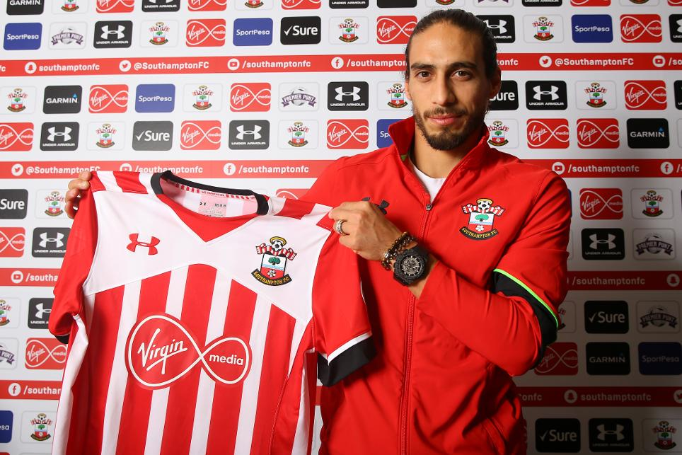 Martin Caceres, Southampton's new signing