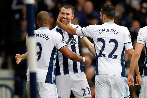 Image result for West Bromwich Albion team 2017