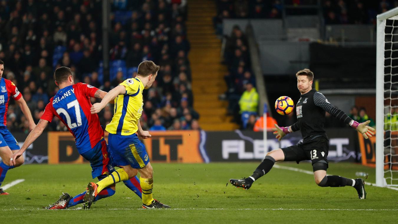 Matchweek 22: Crystal Palace 0-1 Everton