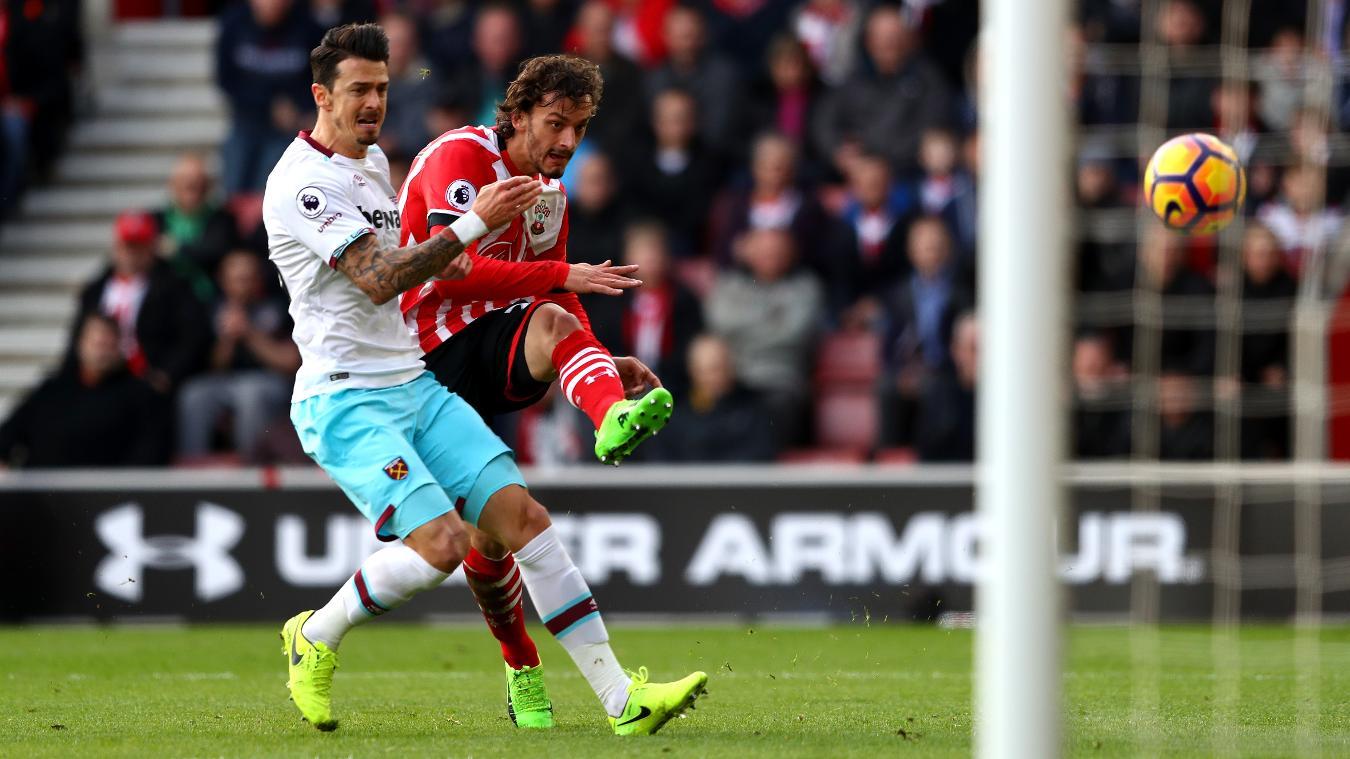 Matchweek 24: Southampton 1-3 West Ham