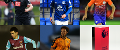 A graphic showing February's PL2 Player of the Month nominees